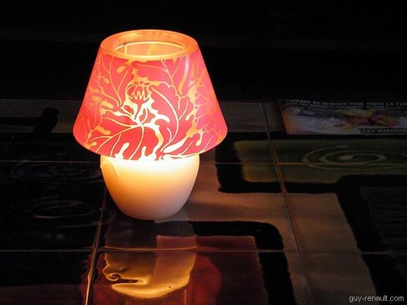 Lampe-bougie