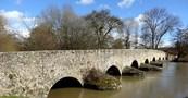 Le Pont Romain d'Yvrè l'évêque