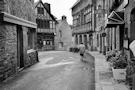 Photo de Tréguier en noir et blanc