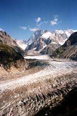 La Mer de Glace en 1985