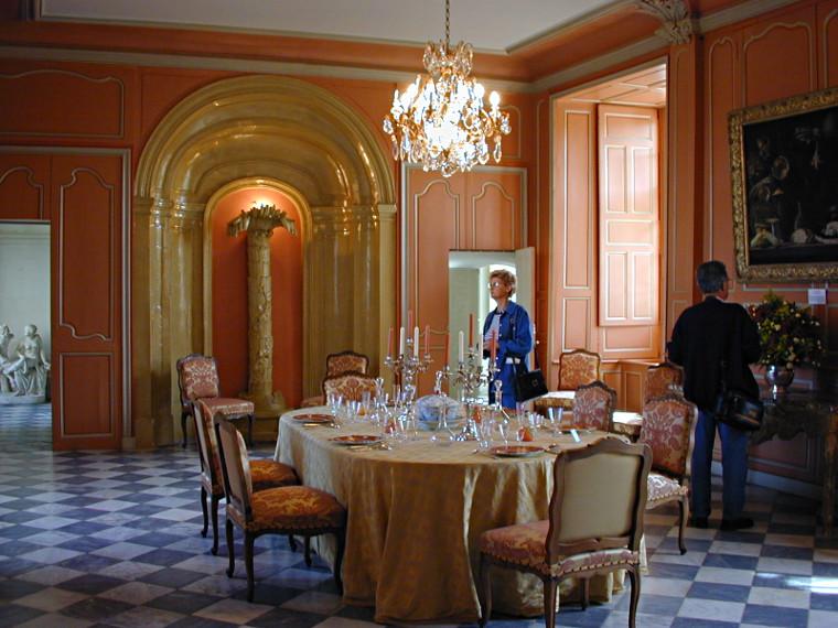 Les ch teaux de la loire le ch teau de villandry int rieur for Chateau chenonceau interieur
